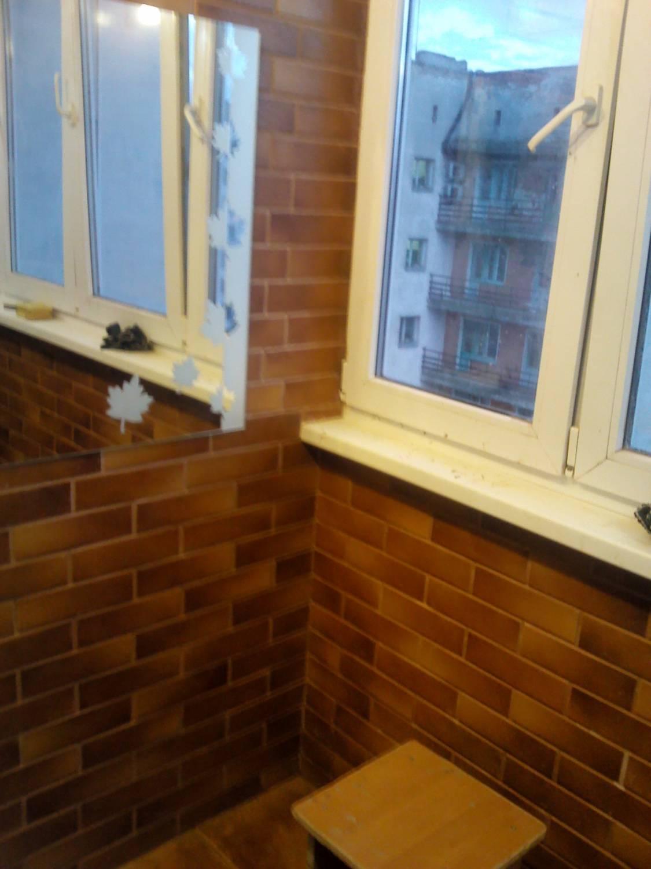 Балкон под кирпич фото..